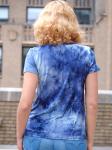 DB Sunday Tie Dye Cinch Knit Top - 5