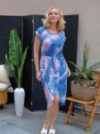 DB Sunday Tie Dye Tulip Front Dress - 4