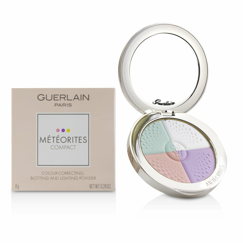 Guerlain Women's # 4 Dore/Golden Meteorites Compact Colour Correcting, Blotting And Lighting Powder Foundation