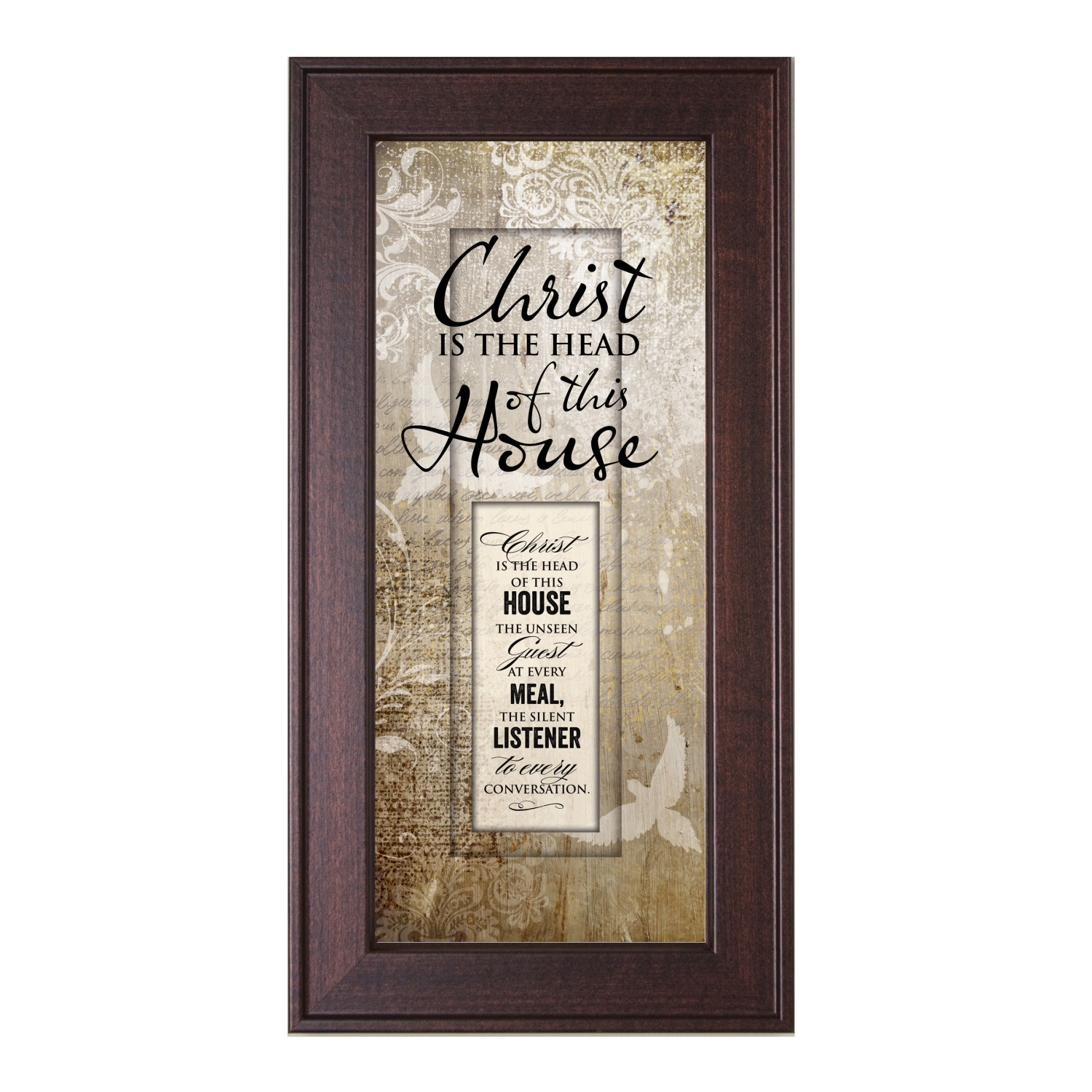 Christ Is The Head Of This House Framed Wall Art