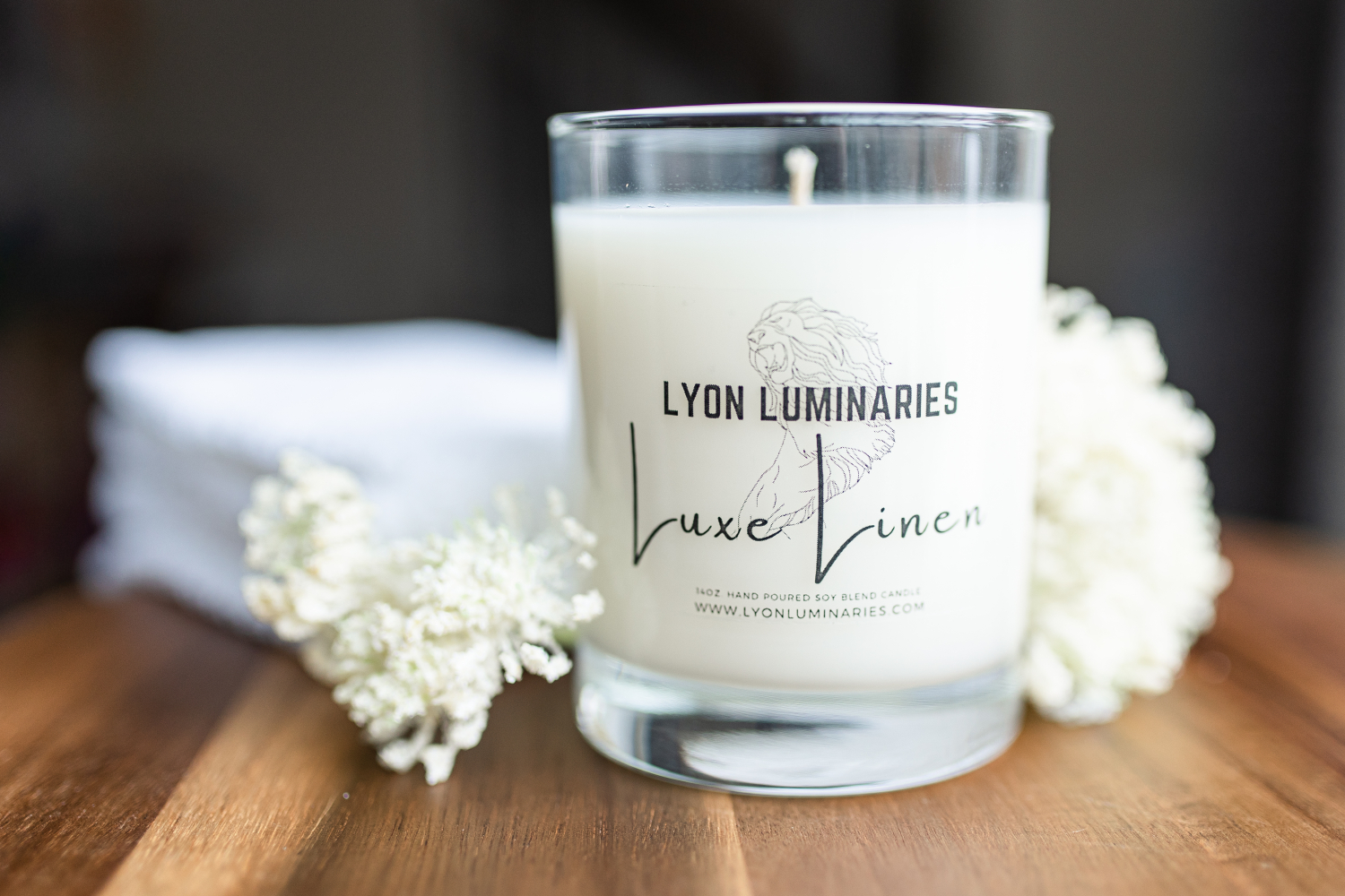 Luxe Linen Soy Blend Candle