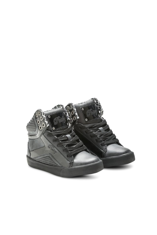 Pastry Pop Tart Grid Youth Sneaker Black/Black