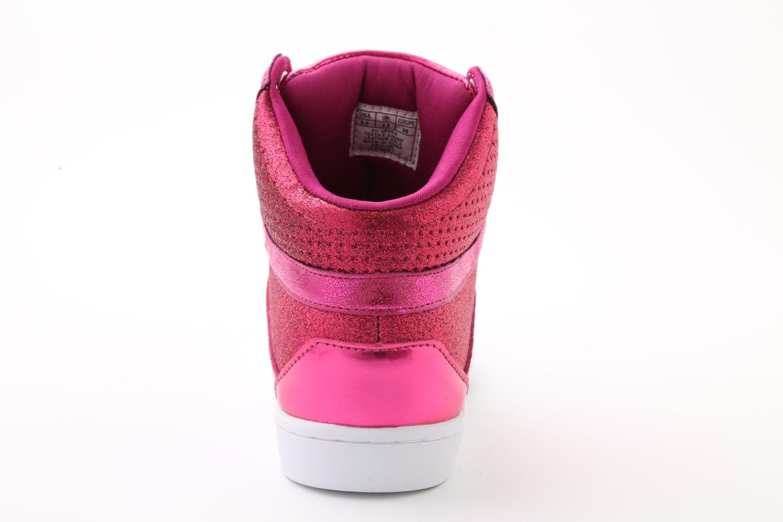 Pastry Pop Tart Glitter Adult Sneaker Fuchsia