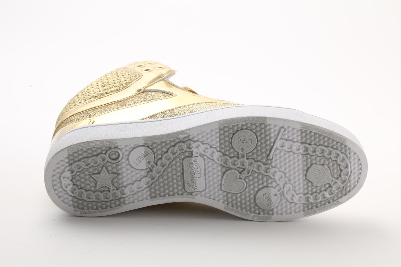 Pastry Pop Tart Glitter Adult Sneaker Gold