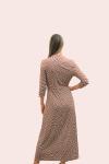 Amelia New York Geometric Viscose Jersey Dress - 2