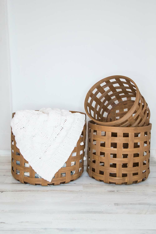 Woven Baskets Set of 3