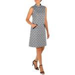 DR Mock Neck Sleeveless Dress With Pockets - 3