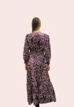 Amelia New York Purple Mist Maxi Long Sleeve Dress - 2