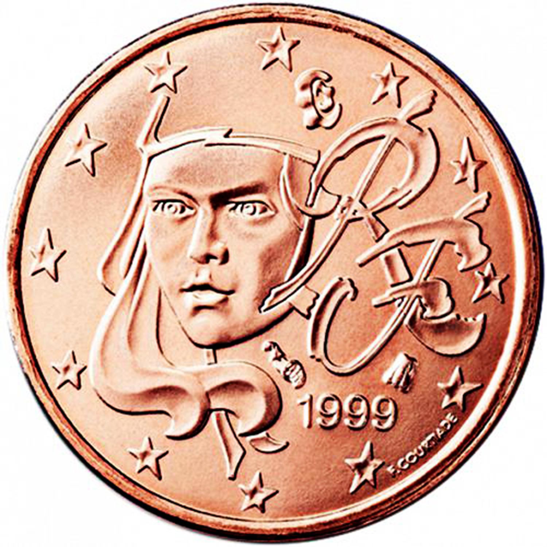 French 2 Euro Coin Cufflinks