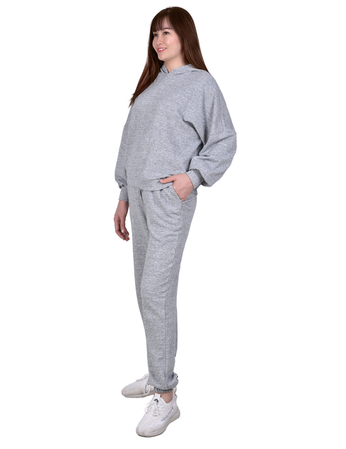 Pullover Hoodie With Pull On Pants