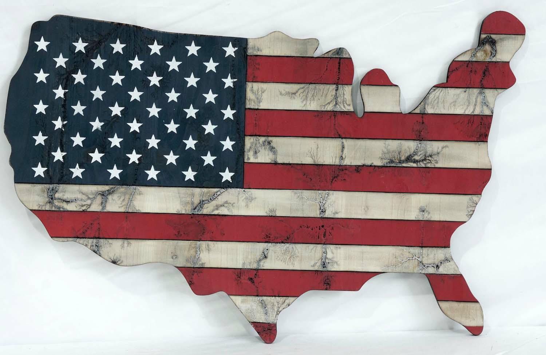 USA Americana Wall Art
