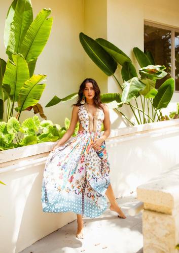 SukiSo Summer Bloom Dress - Back
