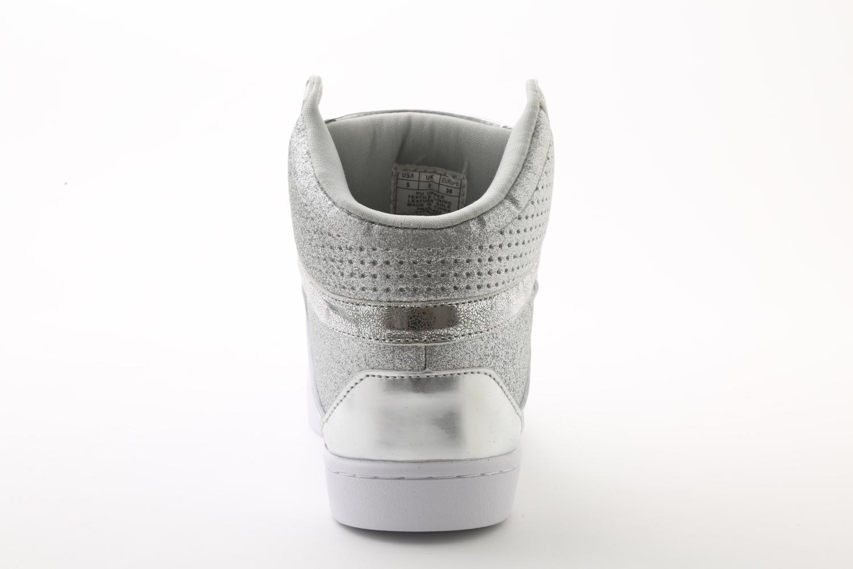 Pastry Pop Tart Glitter Adult Sneaker Silver