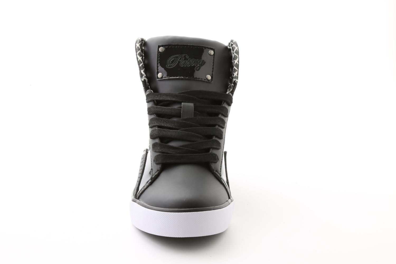 Pastry Pop Tart Grid Adult Sneaker Black/Black
