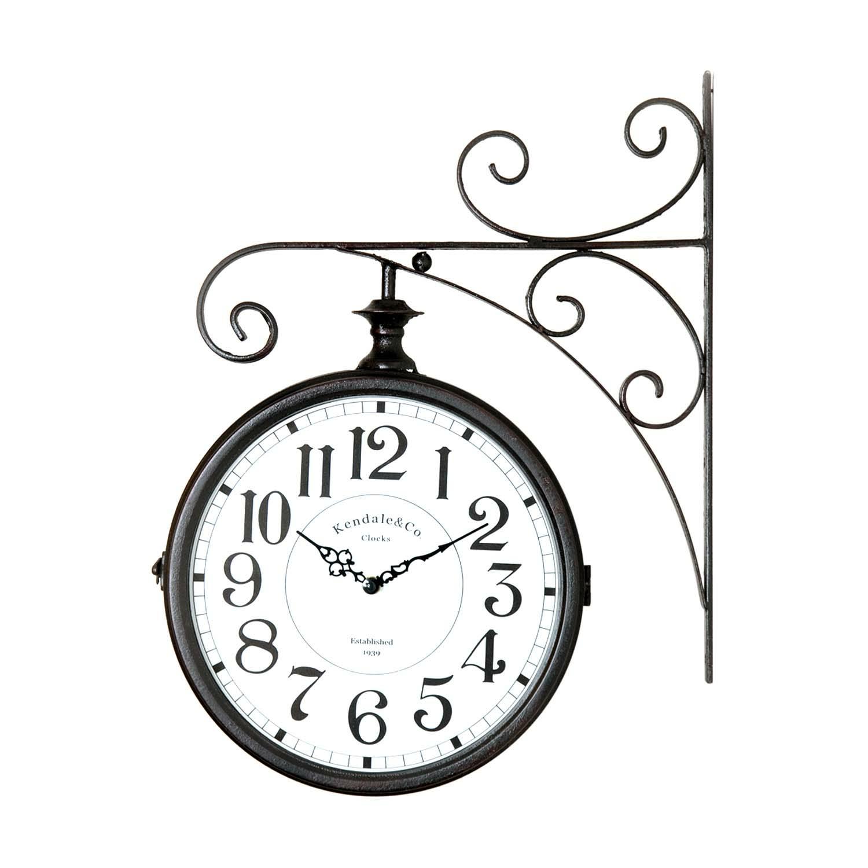 Clock With Bracket