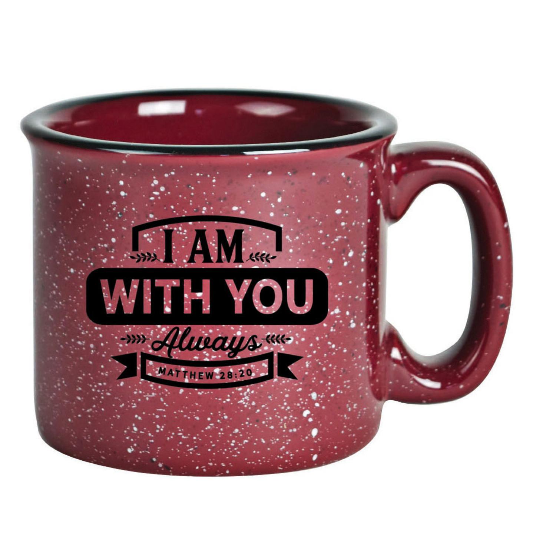 I Am With You Always Designer Ceramic Mug 15 Ounces
