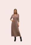 Amelia New York Geometric Viscose Jersey Dress - 1