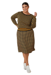 Maree Pour Toi The Jacquard Patterned Sweater - 1
