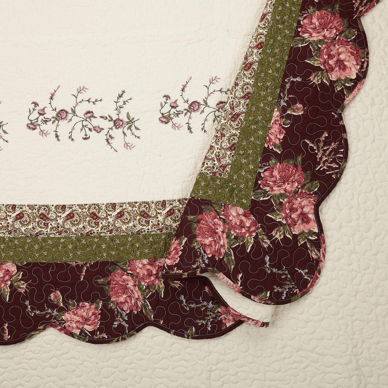 Modern Heirloom Brooke Quilt Set - 3 Piece