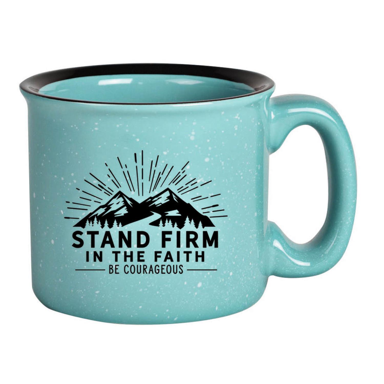 Stand Firm Designer Ceramic Mug 15 Ounces