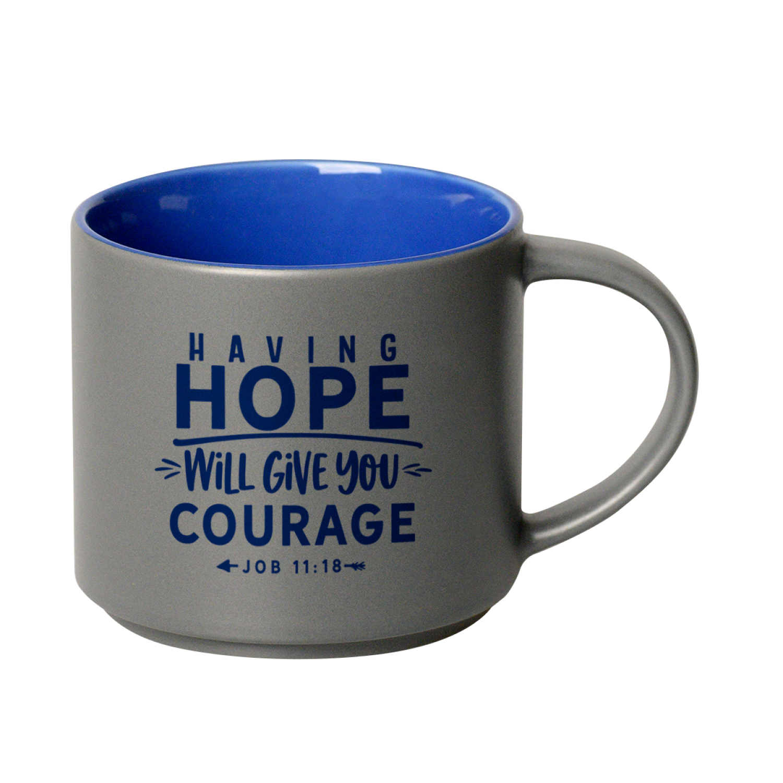 Having Hope 16 Ounce Designer Ceramic Mug - Stackable