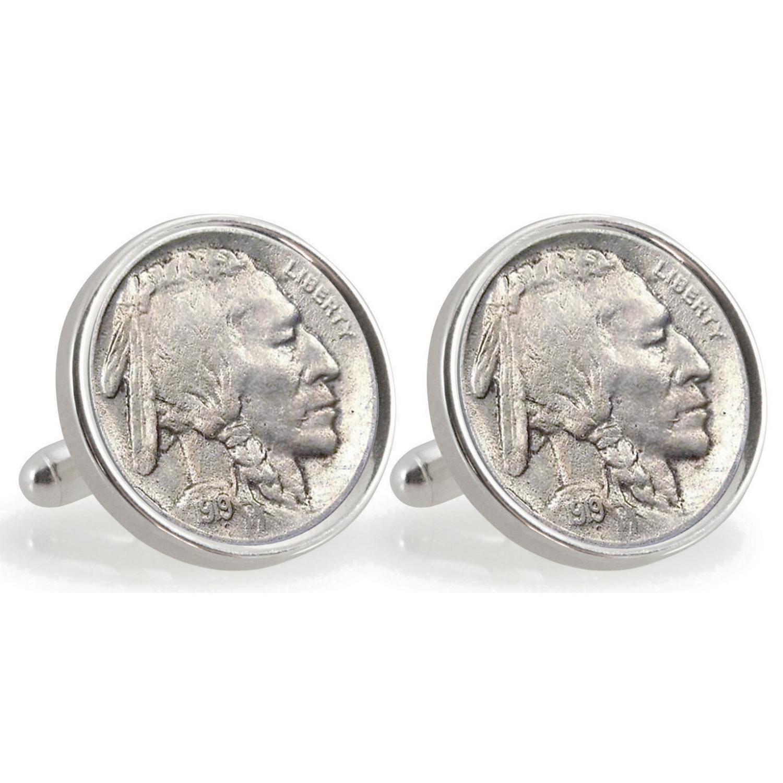 Ucla 1919 Sterling Silver Nickel Coin Cufflinks