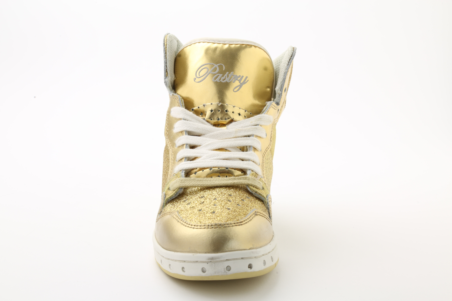 Pastry Adult Glam Pie Glitter Sneaker Gold
