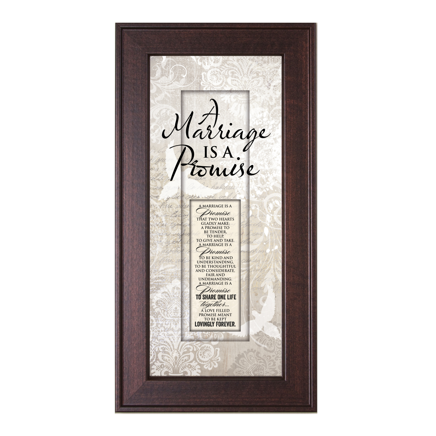 Marriage Promise Framed Wall Art