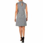 DR Mock Neck Sleeveless Dress With Pockets - 2